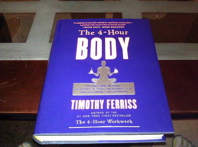 Just Got My Copy of Four Hour Body by Tim Ferriss