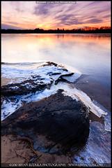 2010-12-16 Turner-8 (Bryan Bzdula Photography) Tags: winter sunset ice canon massachusetts newengland sigma 1020 seekonk 40d graduatedneutraldensity jamesvturnerreservoir