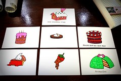 Wide Game Cake Cards