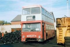 OJD 192R (markkirk85) Tags: bus london buses transport scrap daimler leyland fleetline barnsley morley dms scrapped pvs whittlesey morleys ojd ojd192r 192r