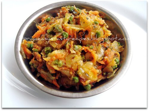 Mixed veggies & Kasuri Methi Masala