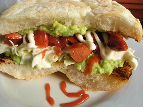 Shukos (Chorizo Sandwich)