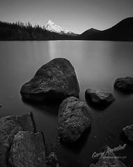Mount Hood Rocks (Gary Randall) Tags: mountain lake oregon mthood mounthood lostlake garyrandall dsc89492