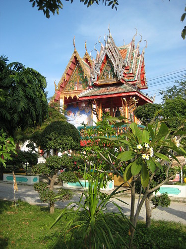 New Vihara, Wat Songphinong, Suphan Buri