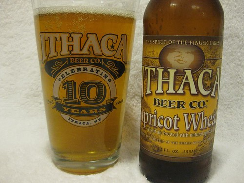 5274817842 515278f1bf Ithaca Beer Co.   Apricot Wheat