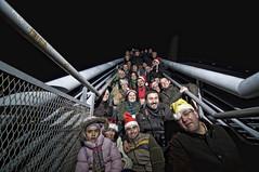 Grupal 3 (Ponte do Milenio) (Salvador Moreira) Tags: people nikon gente crowd tokina galicia kdd f28 vigo 116 atx cea orense grupal d90 1116 oseira