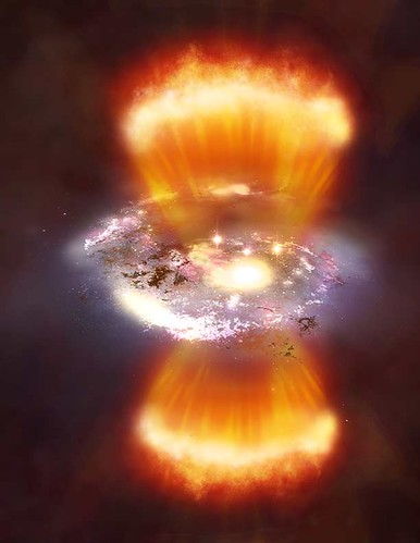 Star Formation artist's conception