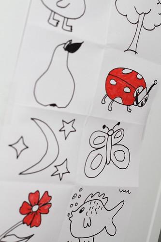 Tegninger til Oliver