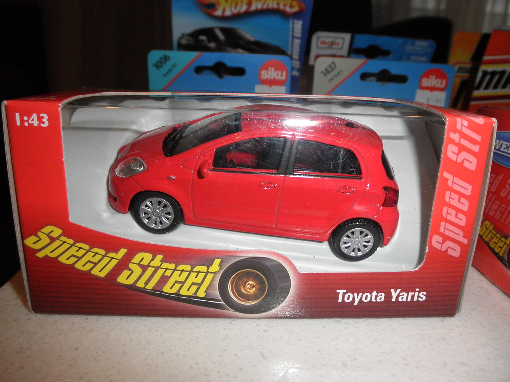 Toyota Yaris Die Cast Toy By Welly