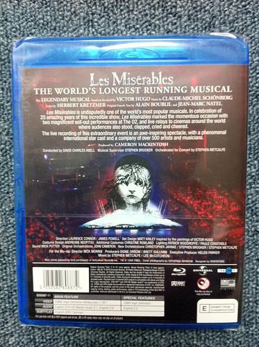 [BD] Les Misérables 25th Anniversary Concert