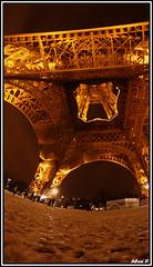 """La Dame de Fer - Tour Eiffel - """"Paris By Night"""" series (alexandrepondevie) Tags: eiffel a700"""