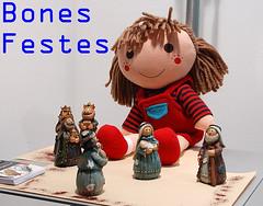 NAVIDAD CON CRISIS (Andreu Anguera) Tags: barcelona catalunya merrychristmas cataluña feliznavidad buonnatale joyeuxnoël bonnadal boasfestas bonesfestes andreuanguera gabonzoriontsuak