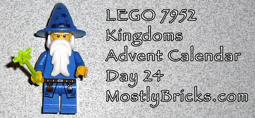 LEGO 7952 Kingdoms Advent Calendar Day 24