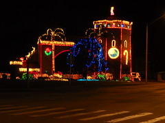 """Castle"" (thisisrobert) Tags: christmas castle lights florida daytonabeach 2010 whitest us92 maybearchway"