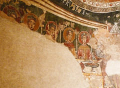 """Circle of the Master of Pedret, The Wise and Foolish Virgins (far left detail """"wise"""")"""