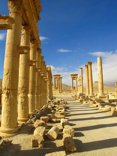 Palmyra Street of Columns