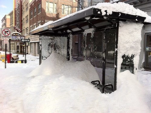 Bus Stop Snow Removal FAIL