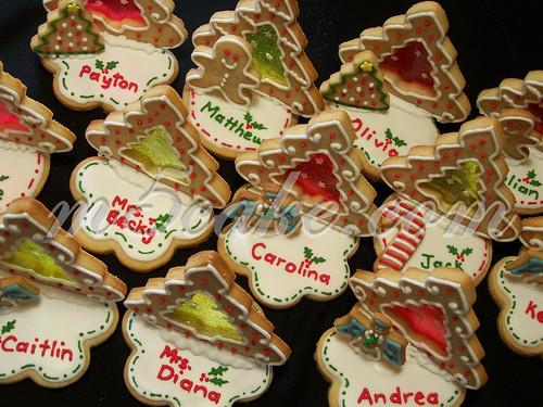 Christmas Party cookies - 1