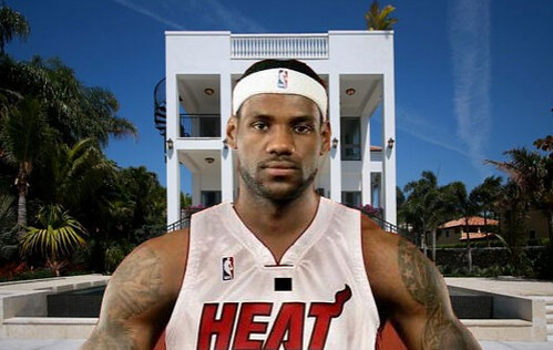 lebron james imagenes. Lebron James House Images