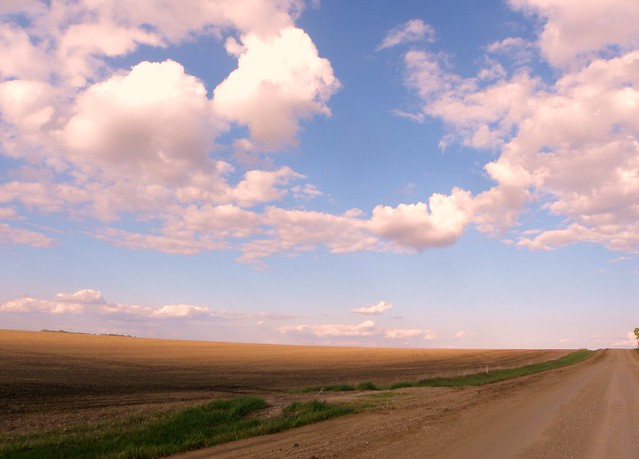 South Dakota Farmland and Big Horizon
