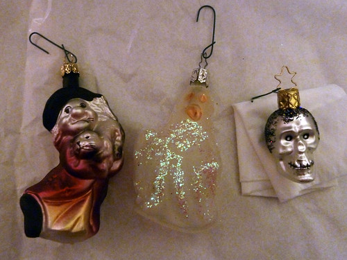 Scary Ornaments