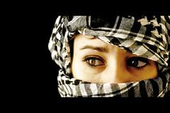 FREE PALESTINE (RominikaH) Tags: photos palestine free zaragoza libre palestina pañuelo palestino 18200mm d90 kuffiya rominikah