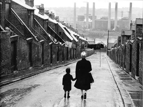 Newcastle, 1950, by Bert Hardy