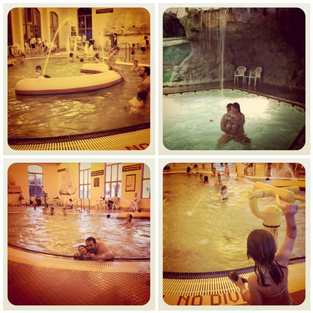 Water Park Fun Collage