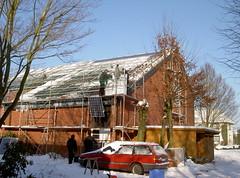 Solardach Kirche Etelsen 1