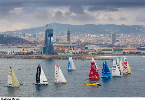 Salida Barcelona World Race