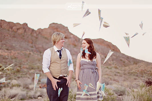paper plane toss engagement