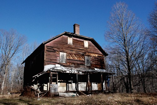 Derelict house at Long Pond Ironworks, New Jersey.
