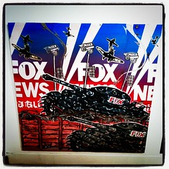 Fox News by Political Gridlock (Steve Rhodes) Tags: cameraphone sf sanfrancisco california ca mobile moblog december 2010 iphone iphone4 iphonephoto december2010 iphoneography dec2010 iphone4camera iphone4photo