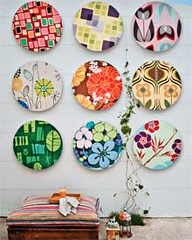 Decorao e reciclagem: Arte com CD's velhos (Jessica Santin (Jehhhhh)) Tags: make wall paper arte recycled cd artesanato easy papel reciclagem decorao parede thrifty reciclar tecido barato fcil decorar