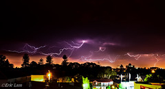 Lightning storm over in newcastle. (Bluemonkey08) Tags: storm composite newcastle timelapse australia explore nsw lightning darbystreet fader flashes d90 explored explore330 ericlam nikond90 bluemonkey08 nikon24mmf28afd faderfilters