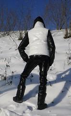 IMGP0014 (Karhu1) Tags: schnee snow shiny jacket nylon snowsuit jacke overall skianzug