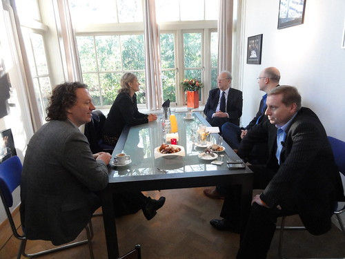 Chat with the crew and guests of TV program Buitenhof
