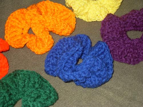 rainbow scrunchies (15)