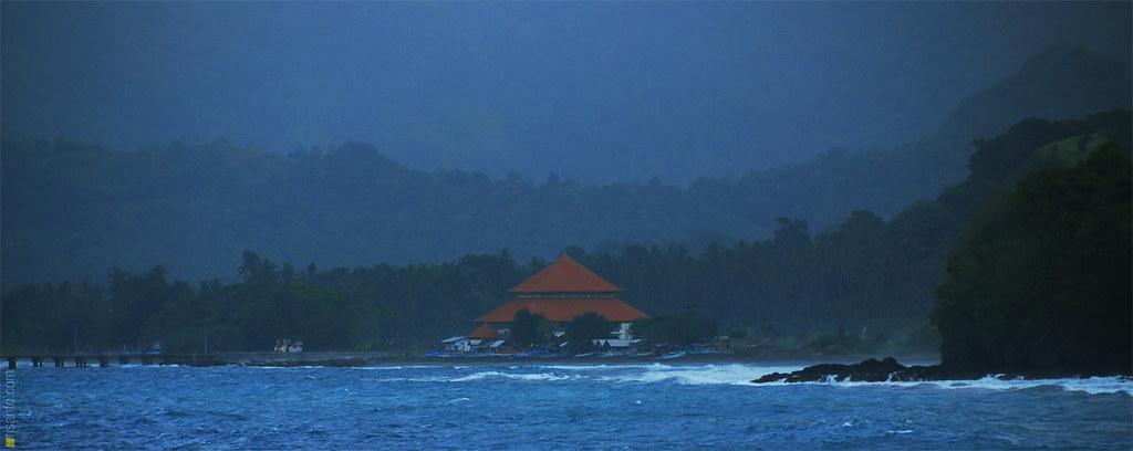 View from Royal Bali Beach Candidasa