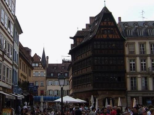 beautiful old hotel in Strasbourg