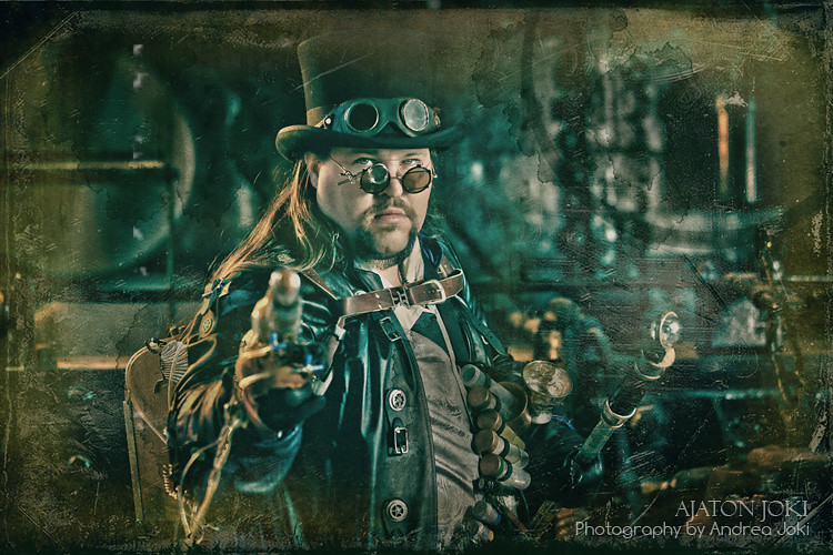 Steampunk session with Joshua Hart