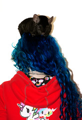 Day 35 of 365 - Year 2 (wisely-chosen) Tags: selfportrait me january chinchilla midnight bluehair tokidoki 2011 365days naturallycurlyhair canonspeedlite430exii extradarkebonychinchilla manicpanicshockingblue curlformers tamronaf90mmf28dispam11macrolens adobephotoshopcs5extended manicpanicaftermidnightblueamplified