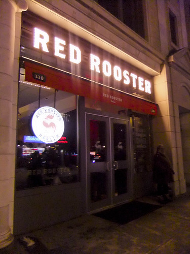 Red Rooster, Exterior