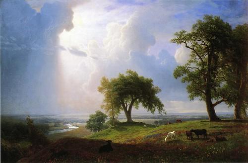 California Spring Albert Bierstadt