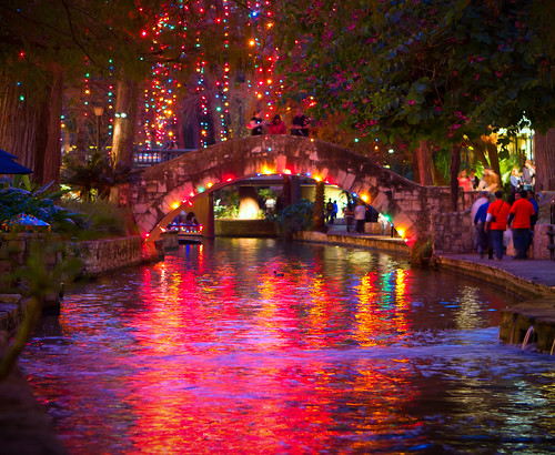 Winter on the Riverwalk