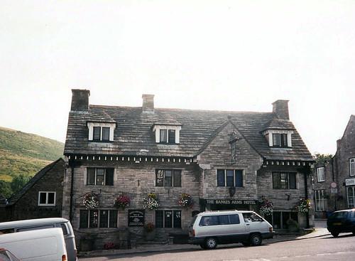 Bankes Hotel (Corfe Village) - Copyright R.Weal 1998