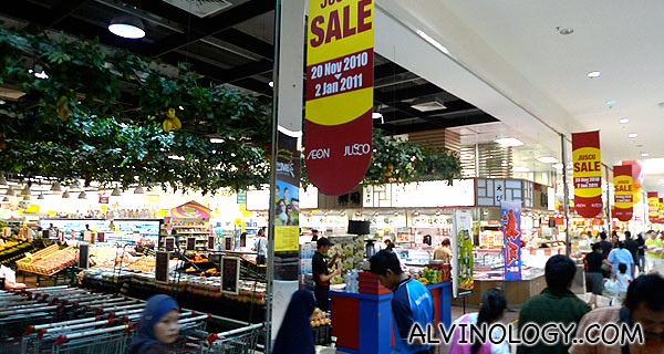 Jusco supermarket
