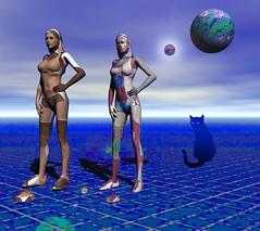The Evil Twin (freetoglow (Gloria)) Tags: bryce visualart hypothetical wowiekazowie krazeekool sharingart