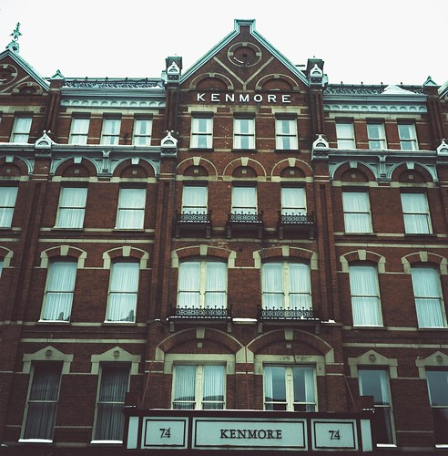Kenmore Hotel, Downtown Albany, Cross-Processed