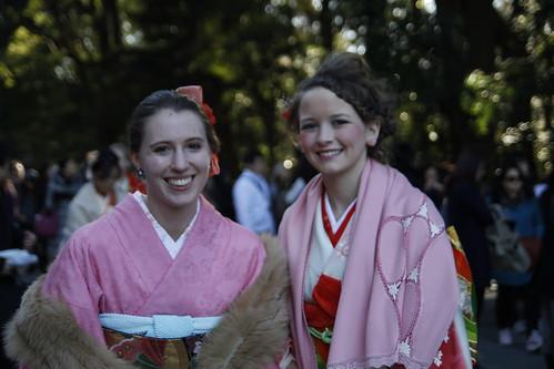 Foreigners in Kimono